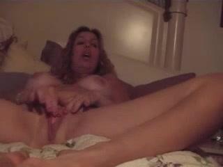 Watching mom masturbate