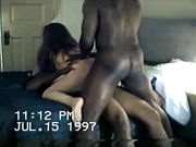 Amateur Slut Wife Shared with Two Black Men